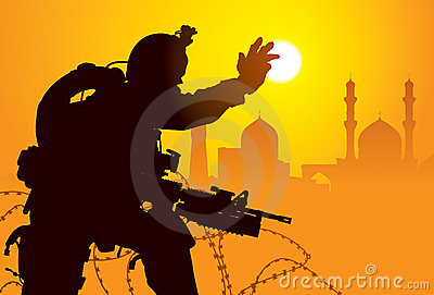 Iraq żołnierz