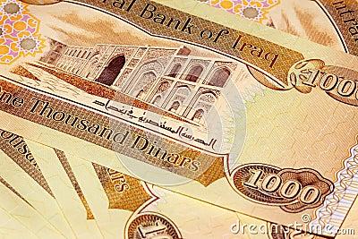 Iraq 1000 Dinar Note CBI