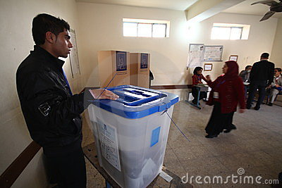 Iraq Election Editorial Photo