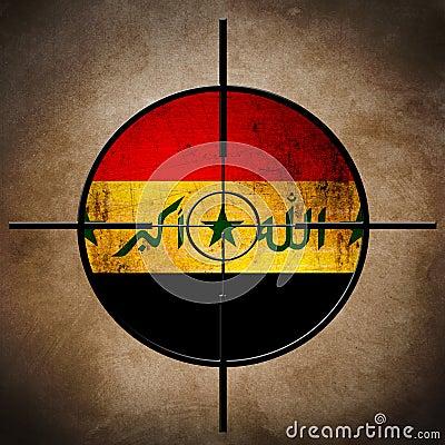 Iraq flag target