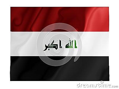 Iraq fluttering