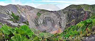 Irazu Volcano Crater, Costa Rica