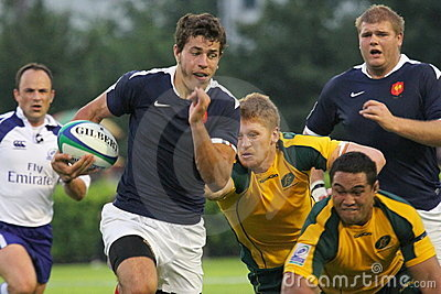 IRB Junior World Championship 2011 Editorial Stock Image