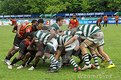 IRB Junior World Rugby Trophy Editorial Stock Photo