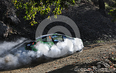 IRC, Cyprus Rally 2012 Editorial Image