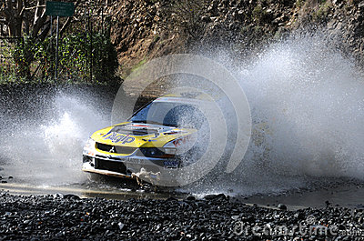 IRC, Cyprus Rally 2012 Editorial Photography