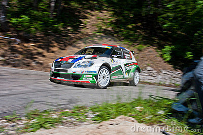 IRC PRIME Yalta Rally 2011 Editorial Photo