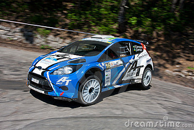 IRC PRIME Yalta Rally 2011 Editorial Photography