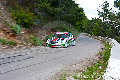 IRC PRIME Yalta Rally 2011 Editorial Image