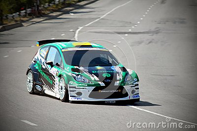 IRC PRIME Yalta Rally 2012 Editorial Photography