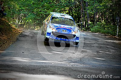 IRC PRIME Yalta Rally 2012 Editorial Image