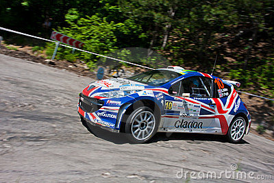 IRC PRIME Yalta Rally Editorial Photography