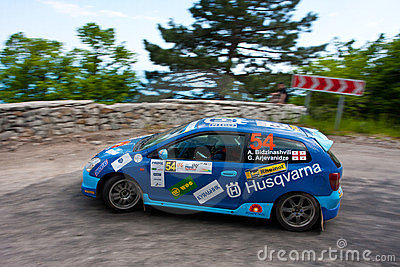 IRC PRIME Yalta Rally Editorial Stock Image