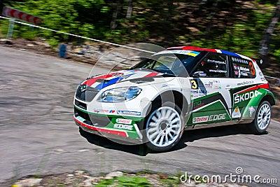 IRC Yalta Prime Rally 2011 Editorial Photo
