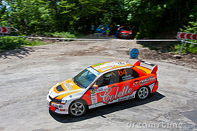 IRC Yalta Prime Rally 2011 Editorial Photo