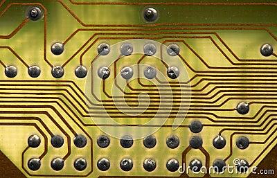 Сircuitboard background in hi-tech style