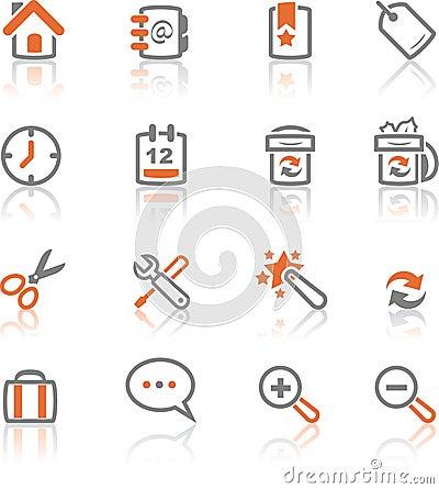 Free Ireflect Set 1 - Web And Internet Icons Royalty Free Stock Photo - 5355755