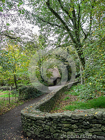 Free Ireland. Bunratty Folk Park Royalty Free Stock Images - 51289049