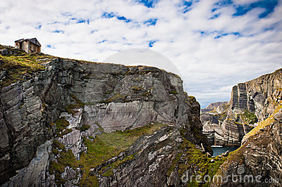Ireland, cliffs in Mizen Head