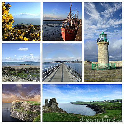 Ireland collage