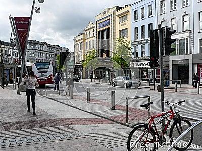 Ireland. Cork - Corcaig Editorial Photo