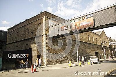 Ireland. Dublin. Guinness Storehouse Editorial Photo
