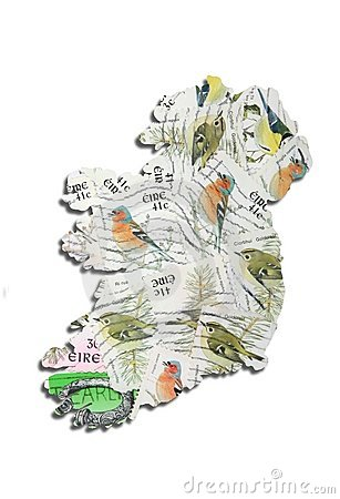 Ireland in postage stamps