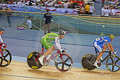 Ireland Cyclist Martyn Irvine Editorial Photo