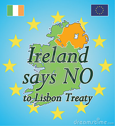 Free Ireland Says NO To Lisbon Treaty Royalty Free Stock Photos - 5464788