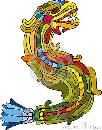 Iridescent snake