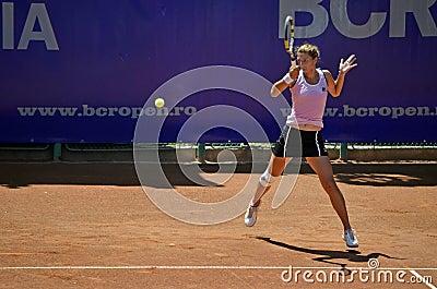Irina Begu forehand Editorial Stock Image