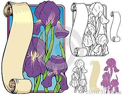 Iris bookplate