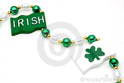 Irish beaded necklace