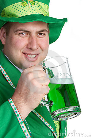 Irish Beer Man
