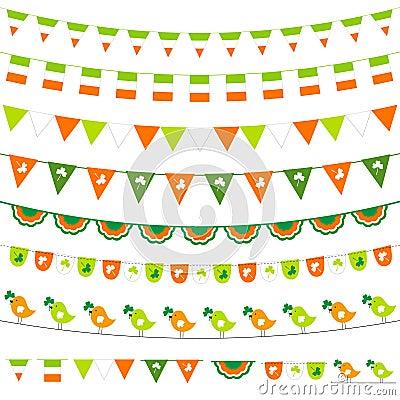 Irish bunting set