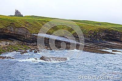 Irish Castle on the Cliffs