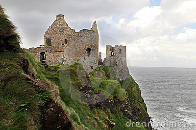 Irish Castle on the Northern Coastline