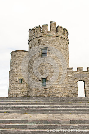 Irish castle tower