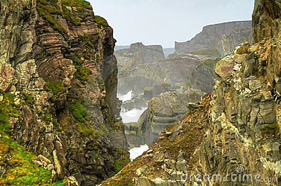 Irish cliffs at Mizen Head