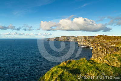 Irish coast - Cliffs of Moher