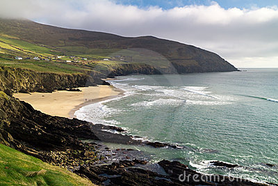 Irish coastline