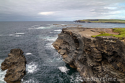 Irish coastline near Kilkee