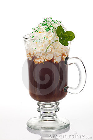 Free Irish Coffee Royalty Free Stock Photo - 18433435