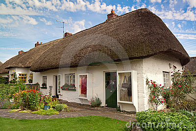 Irish cottage house