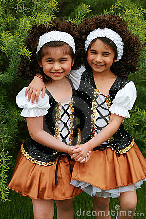 Free Irish Dancers Royalty Free Stock Photo - 5197745