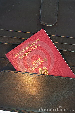 Irish EU passport