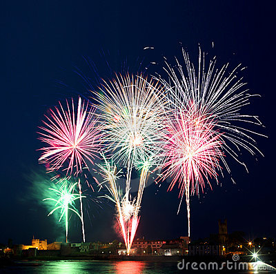 Irish Fireworks Display