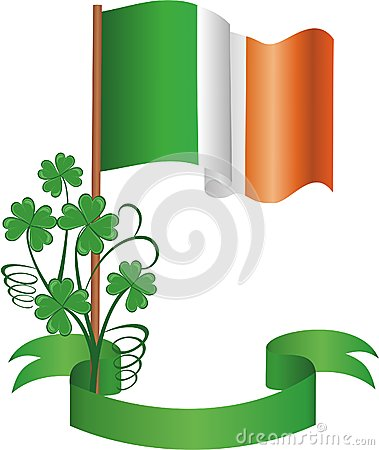 The Irish flag