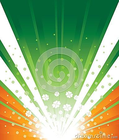 Irish Flag Background