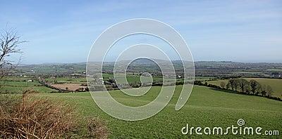 Irish landscape.